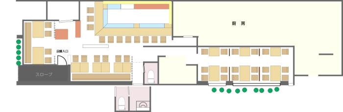 大乃寿司 大和店 店舗案内図
